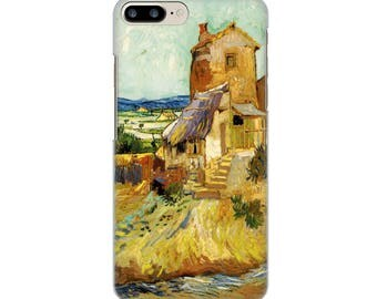 IPhone case 4-5-6-7, the old mill Van Gogh