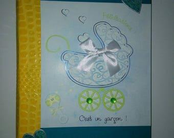 Custom made birth notebook