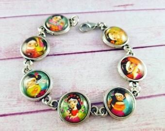 Bracelet Frida Cameo