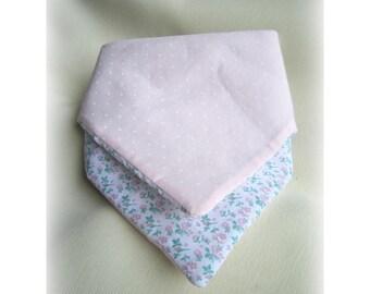 Padded bib reversible bandana size 12-24 months