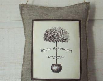 Pillow of door shrub (linen)