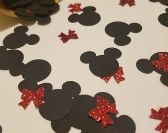 Minnie Themed Party Confetti