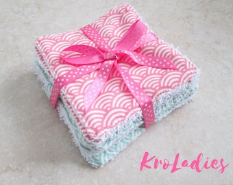 Washable wipes cotton, fabric choice - birthday gift, birth gift, baby shower, women gift, beauty, mother's day gift