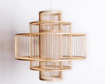 Bamboo Pendant lamp – Steps