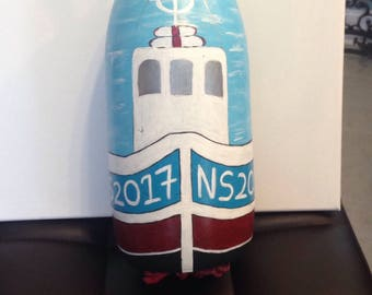 Handpainted Nova Scotia Buoy