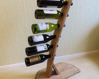 Whisky Barrel Wine Rack
