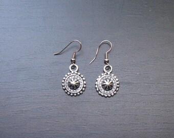 Elaborate Baroque earrings