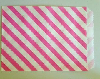 Pink 15 paper bag