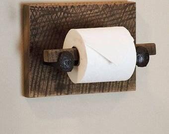 Wood tp holder