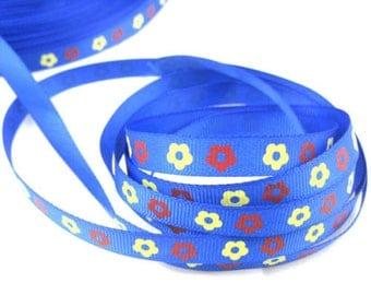 Blue Ribbon electric flowers (x 1 meter)