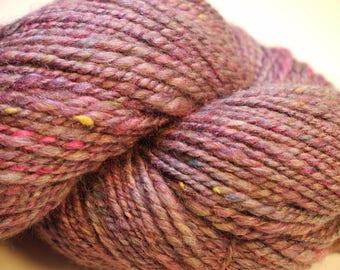 Hand Spun Yarn - Western Spring Beauty