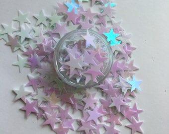 Iridescent Sequin Stars