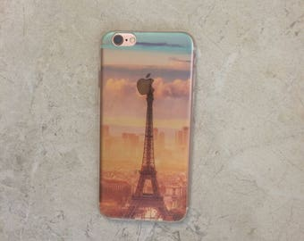 Eiffel Tower iPhone Case Scenery iPhone 7 6s 6 Case Eiffel Tower in Paris Top Selling Gift For Her iPhone Case