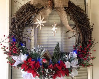 EXAMPLES** Christmas / Winter Wreaths