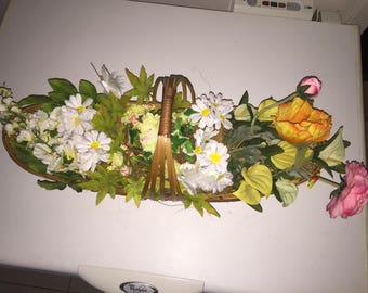 FLORAL BASKET TO PUT