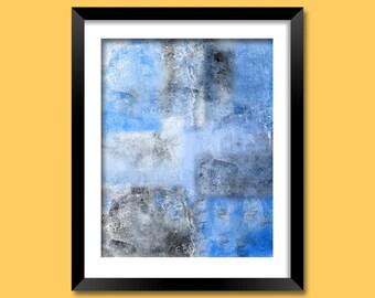 Original Art, Digital Print, Abstract Art, Abstract Wall Art, Wall Art Print 12X16, Digital Download, Fine Art, Printable Art | M0035