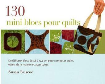 130 mini blocks for quilts