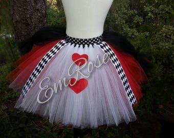 Royal Heart Queen Tutu Skirt
