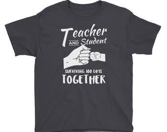 100 days of school - 100 days - 100 days smarter - 100th day of school - 100th day 100 days shirt