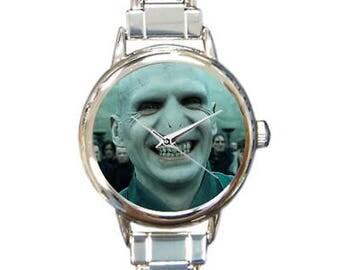 Voldermort Italian Charm Watch Bracelet Tom Riddle Harry Potter Add/Remove Links