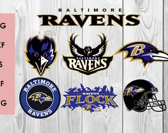 Baltimore Ravens SVG, Baltimore Ravens DXF, PNG cutting file, Printable, T-shirt Design, Scrapbooking Clipart