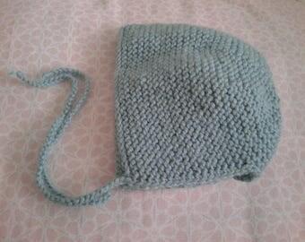 Woolen Hat baby bonnet (choice of color)
