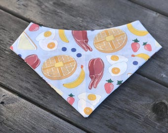 Breakfast of Champions pet bandana
