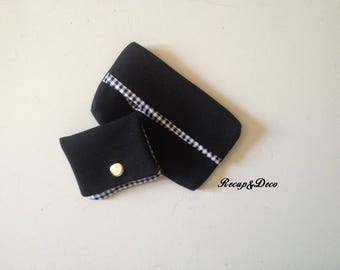 All case, Pocket handkerchief (Rock) + Pocket for stamps