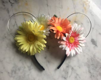 Summertime Fun Floral Wire Ears