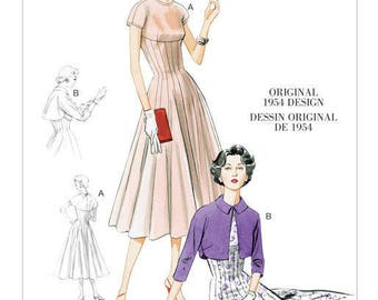 By Vogue V8999 retro vintage sewing pattern