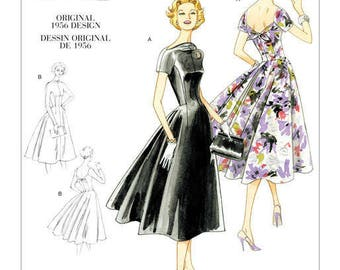 By Vogue V1084 retro vintage sewing pattern