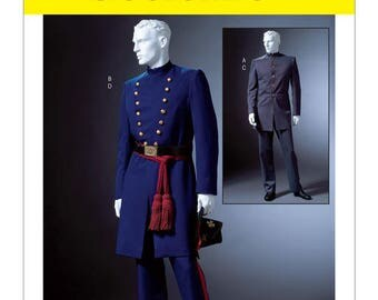 Cosplay Mc Call's M4745 civil war costume sewing pattern