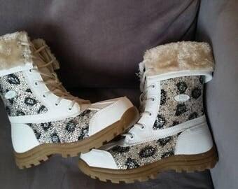 Sawarski Crystal Boots