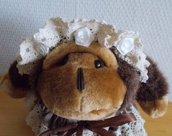 """Plush Lavender ball """"NANY KONG"""" for Cabinet or decoration"""