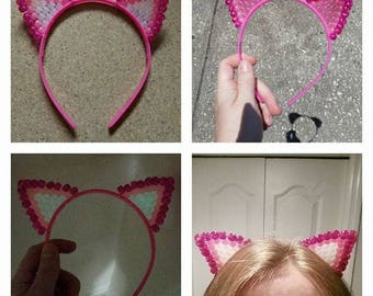Beaded Cat Ears