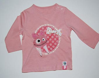 """Monstroupatte"" long sleeve t-shirt"