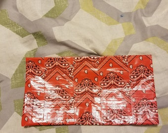 Red bandana wallet