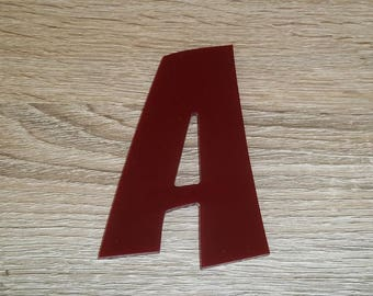 Model letter sign PLEXI ZOINKS; all letters available