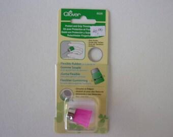 Comfortable rubber Clover thimbles