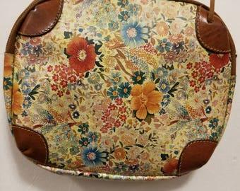 Vintage Furla Floral Crossbody