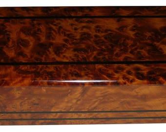 Thuya Wood Storage Box  Moroccan Wood Jewelry Boxes  Thuja Wood Box
