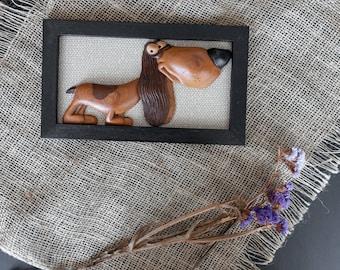 Animals Wood Decor Fun Decor Idea Dog Picture Wooden Dog Kids Housewarming Dog Wood Art Decor Cute Dog