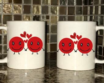 Mug - Emojis in Love