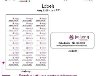 Jamberry Labels - Digital File