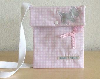Pink kids bag - girl - Kids bag Messenger bag