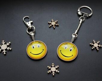Keychain or handbag SMILEY smile emoticon