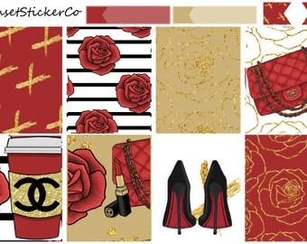 Material Girl | Erin Condren Weekly Kit (K10)