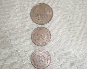 Vintage Deutschland Coins