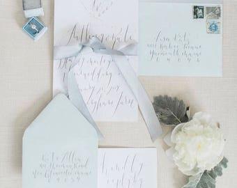 Whimsical Wedding invitation