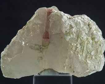 Quartz with Tourmaline Crystals